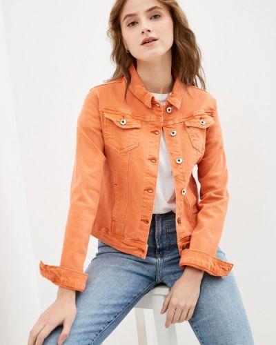 Оранжевая демисезонная куртка Softy
