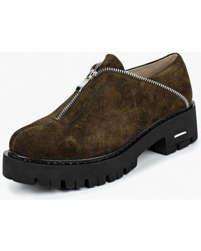 Ботинки на каблуке осенние низкие Dali