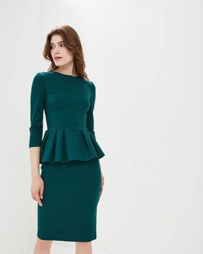 Зеленый юбочный костюм Gorchica