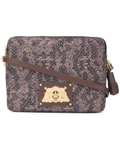 Кожаная сумка нейлоновая сэтчел Juicy Couture