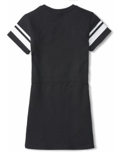 Платье в рубчик - черное Puma