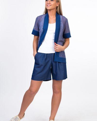 С рукавами повседневный трикотажный пиджак Kapsula