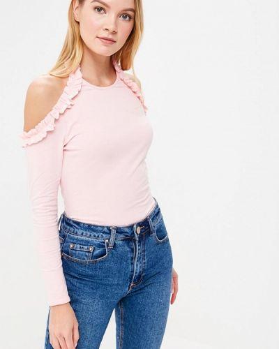 Розовое боди блуза Lost Ink Petite