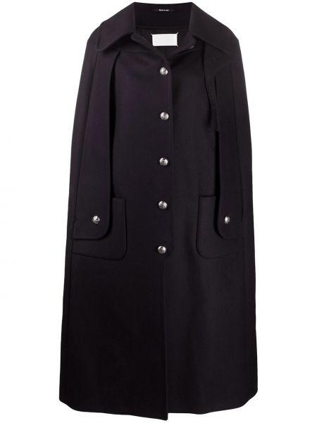 Пальто классическое без воротника милитари Maison Margiela