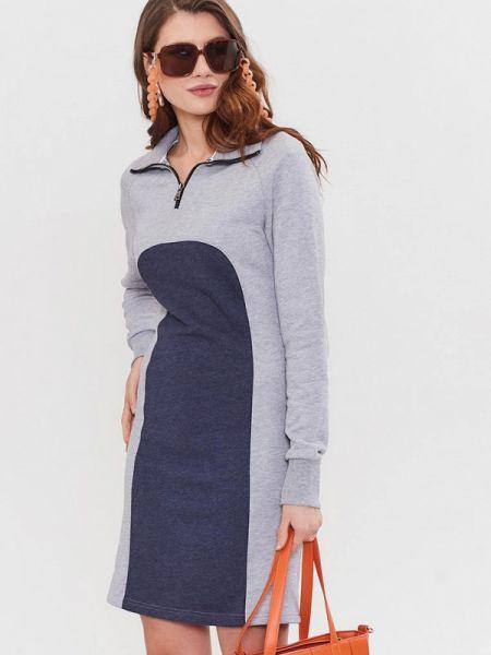 Серое платье Jam8