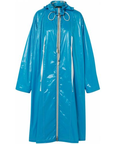 Синий дождевик из плащевки с подкладкой Calvin Klein 205w39nyc
