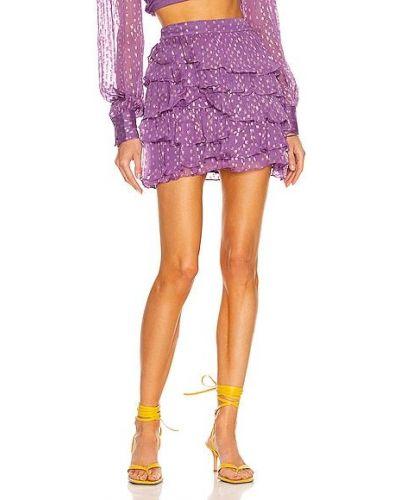 Юбка мини - фиолетовая Rococo Sand