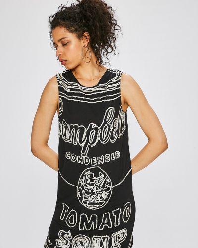 Джинсовое платье мини из вискозы Andy Warhol By Pepe Jeans