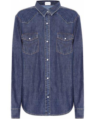 Джинсовая рубашка - синяя Magda Butrym