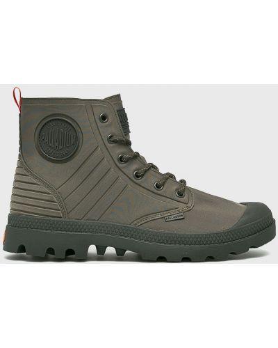 Ботинки на шнуровке высокие резиновые Palladium