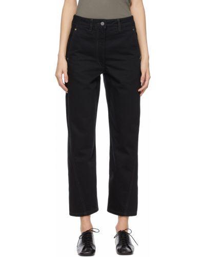 Złote mom jeans - czarne Lemaire