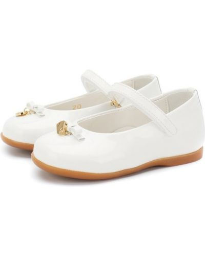 Балетки белый Dolce & Gabbana