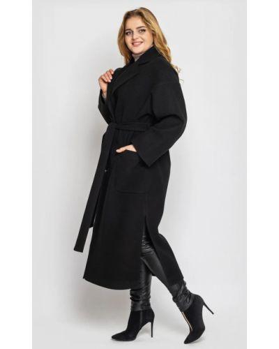 Кашемировое пальто - черное Vlavi