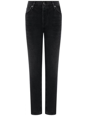 Хлопковые джинсы - серые Agolde
