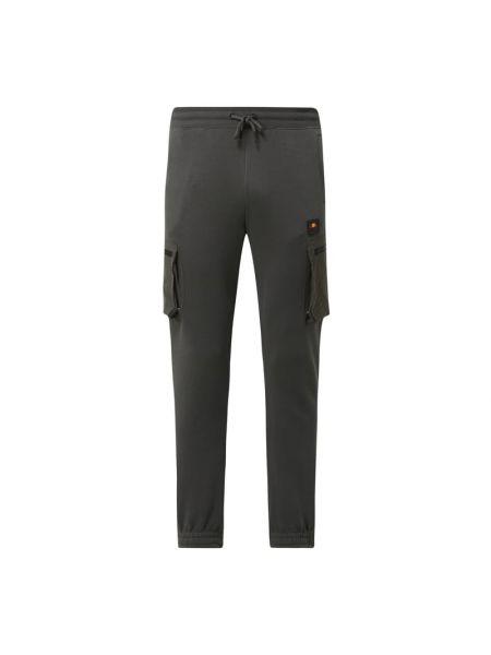 Bawełna bawełna spodni bojówki z kieszeniami Ellesse