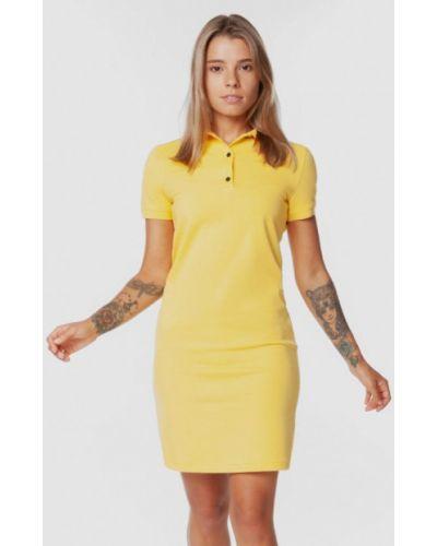 Платье-футболка - желтое Arber