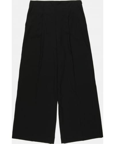 Черные брюки на резинке свободного кроя Cos