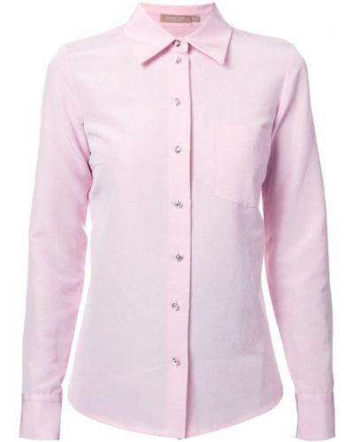 Рубашка розовый на пуговицах Michael Kors Collection