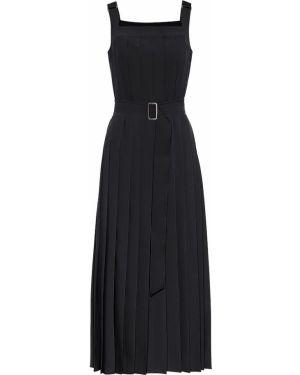 Платье миди плиссированное со складками Max Mara