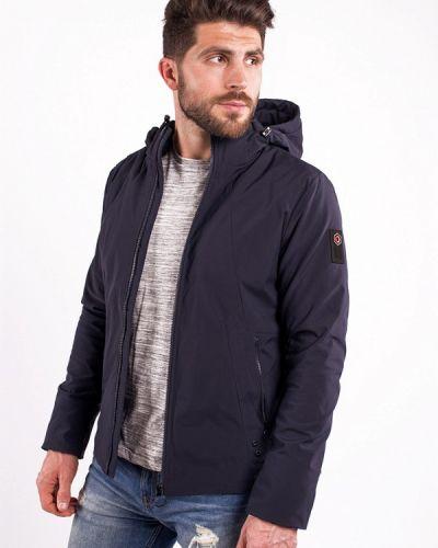 Синяя утепленная куртка Avecs