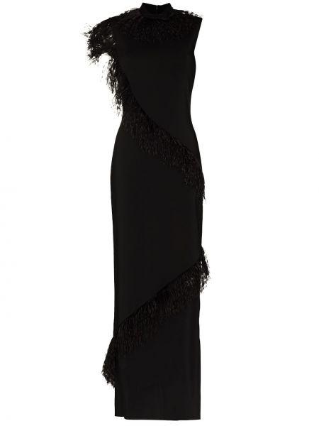 Sukienka z wiskozy - czarna Christopher Kane