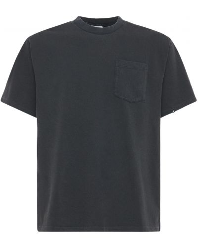 Czarny t-shirt bawełniany Askyurself