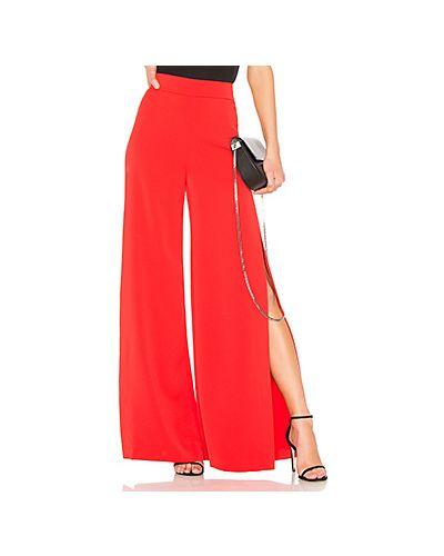 Красные брюки Alice + Olivia