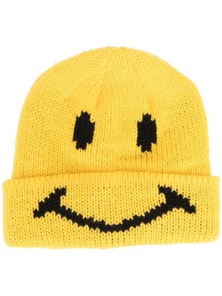 Żółta czapka z akrylu Chinatown Market