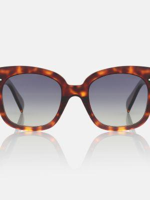 Солнцезащитные очки классические - коричневые Celine Eyewear