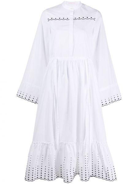 Платье с вышивкой расклешенное See By Chloe