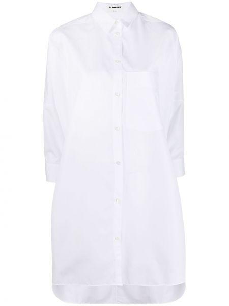 Рубашка оверсайз - белая Jil Sander