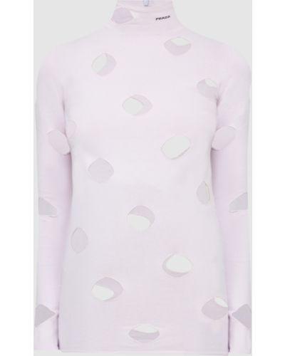 Фиолетовый свитер Prada