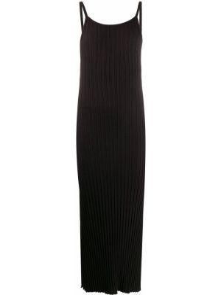 Sukienka prążkowana - czarna Simon Miller