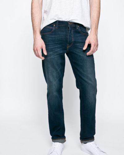 Прямые джинсы с карманами с нашивками Lee