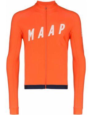 Спортивная футболка на молнии Maap