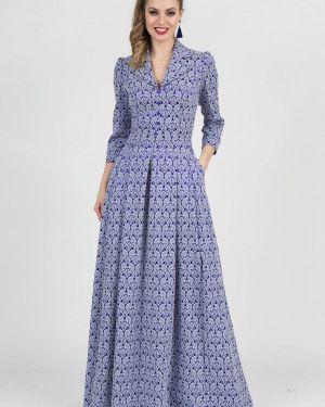Вечернее платье - голубое Olivegrey