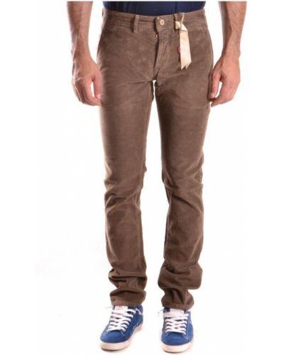 Brązowe spodnie Siviglia