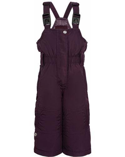 Фиолетовые утепленные брюки Poivre Blanc