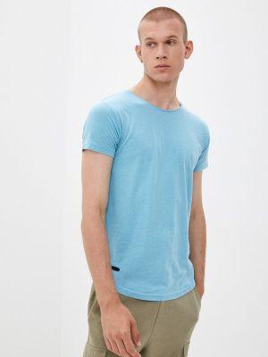 Голубая футболка с короткими рукавами Hopenlife