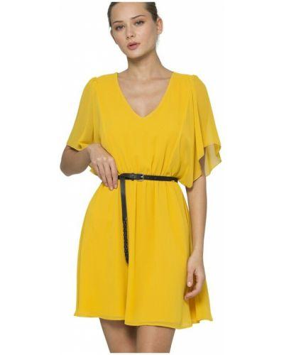 Żółta sukienka Kocca