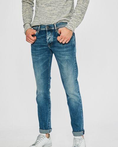Прямые джинсы делаве с заниженной талией Pepe Jeans