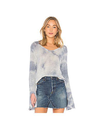 Голубой свитер La Made