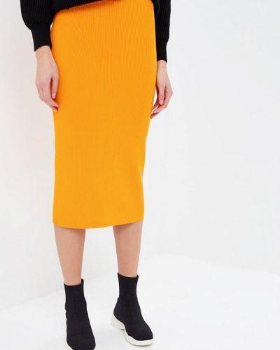Юбка облегающая осенняя Calvin Klein