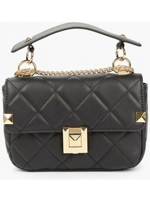 Кожаная сумка - черная Aldo