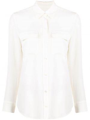 Шелковая рубашка с воротником с карманами Equipment