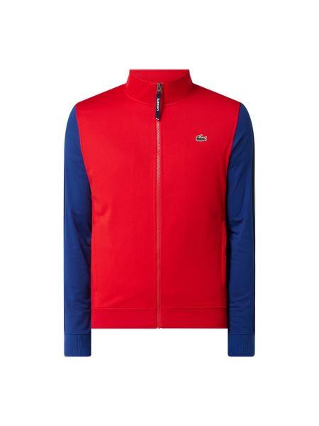Prążkowana kurtka sportowa Lacoste