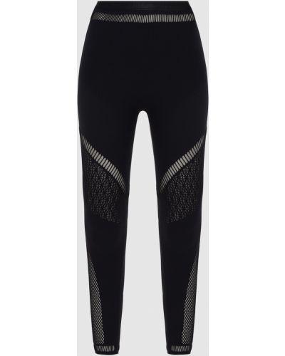 Черные спортивные спортивные брюки Wolford