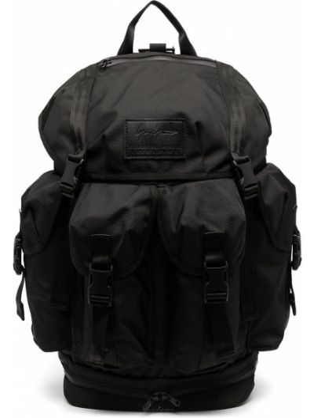 Czarny plecak z akrylu Yohji Yamamoto