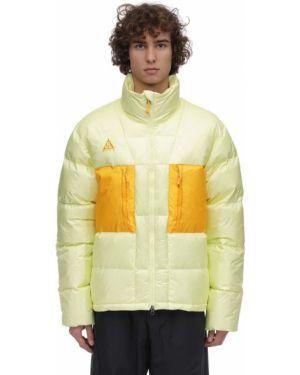 Пуховая куртка - зеленая Nike Acg