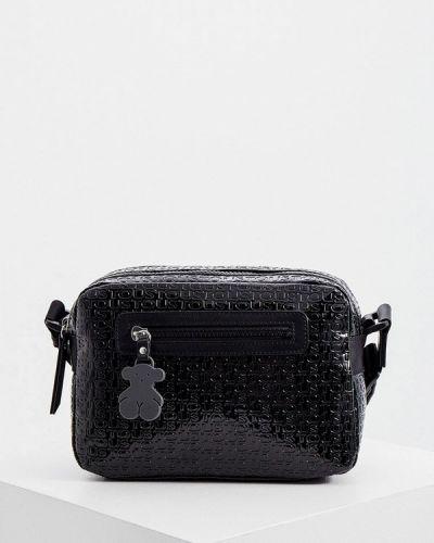 Черная зимняя сумка Tous